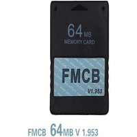 Free McBoot FMCB 1.953 64MB Memory Card for Sony Playstation2 PS2 Cards OPL MC Boot PS2