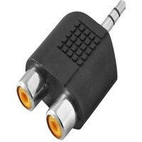Adapter Audio Stereo Logilink Ca1001 3,5Mm Jack (M) 2X Chinch (F)