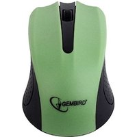 Mouse Gembird MUSW-101-G Wireless optical mouse, green
