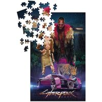 Puzzle Cyberpunk 2077 Puzzle Neokitsch