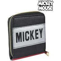 Purse Mickey Mouse Card Holder Black 70685