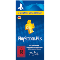PlayStation Network Plus Card 365 Tage (DE) (PSN-Code)