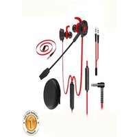 KSTE PLEXTONE G30 Stereo Bass in-Ear Headphones with Microphone Red