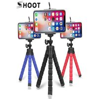 Mini Flexible Octopus Tripod for Smartphones Android and IOS Blue