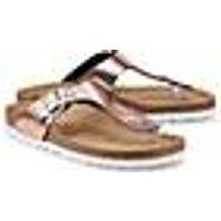 Bio Life, Komfort-Zehentrenner in bronze, Sandalen für Damen