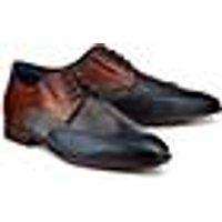 Bugatti City, Business-Schnürer in blau, Business-Schuhe für Herren