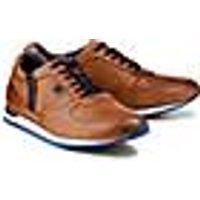 Bugatti City, Leder-Sneaker in braun, Sneaker für Herren