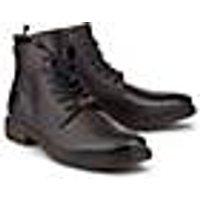 Bugatti City, Schnür-Boots in braun, Stiefel für Herren