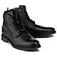 Bugatti City, Schnürboots in schwarz, Boots für Herren