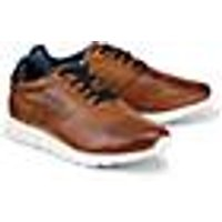 Leder-Sneaker von Bugatti Denim in braun für Herren. Gr. 41,42,43,44