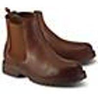 Chelsea-Boots von Ca´Shott in braun für Damen. Gr. 37
