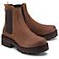 Chelsea-Boots von Ca´Shott in braun für Damen. Gr. 36,37,38,39,40,41,42