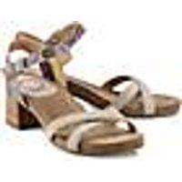 Sandalette von Ca´Shott in taupe für Damen. Gr. 36,40