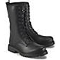 Schnür-Stiefelette von Ca´Shott in schwarz für Damen. Gr. 36,38,39,40