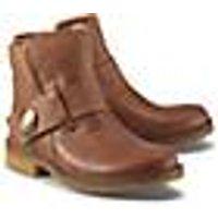 Winter-Boots von Ca´Shott in braun für Damen. Gr. 37,38,39,40,41