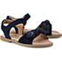 Klett-Sandale von Clic in blau für Mädchen. Gr. 27,28,29,30,31,32,33