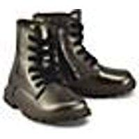 Schnür-Boots von Clic in bronze für Mädchen. Gr. 27,28,29,30,32,33,34,35