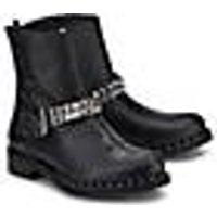 Curiosité, Biker-Boots in schwarz, Boots für Damen