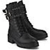 Curiosité, Schnür-Boots in schwarz, Boots für Damen