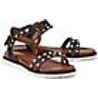 Sommer-Sandale von Drievholt in schwarz für Damen. Gr. 38