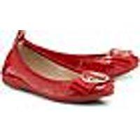 Lack-Ballerina von La Ballerina in rot für Damen. Gr. 36,37,38,39 1/2,40