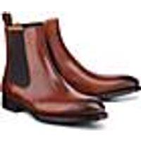 Chelsea Boots von Ludwig Görtz in braun für Herren. Gr. 42,43