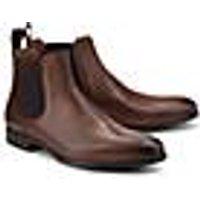 Chelsea-Boots von Ludwig Görtz in braun für Herren. Gr. 41,42,43,44,45