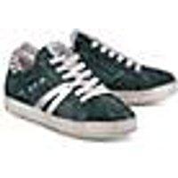 Fashion-Sneaker von Meline in grün für Damen. Gr. 36,37,38,39,40,41,42