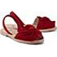 Slingback-Sandale von RIA in rot für Damen. Gr. 39,41