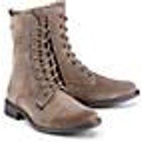 Richter, Schnür-Stiefel in taupe, Stiefel für Mädchen