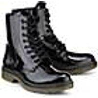 Skør, Schnür-Boots in schwarz, Stiefel für Mädchen