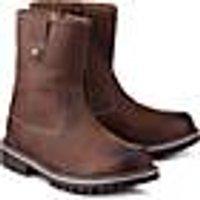 Skør, Winter-Boots in braun, Stiefel für Jungen