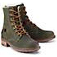 Skør, Winter-Boots in khaki, Stiefel für Mädchen