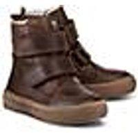 Skør, Winter-Klett-Boots in braun, Stiefel für Jungen