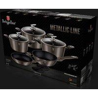 10-Piece Berlinger Haus Metallic Cookware Set - 2 Colours