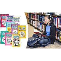 Dork Diaries Rachel Renee Russell 9 Book Collection