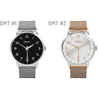 Noah Watches in Slimline or GMT Designs – FREE Delivery!