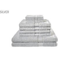 10-Piece Egyptian Cotton Towel Set - 7 Colours