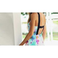 Image of Floral Strappy Summer Dress