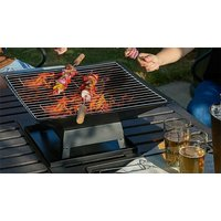 'Square Fire Pit With Bbq Grill