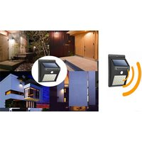 Motion-Detecting Solar LED Security Light – 1, 2, or 4