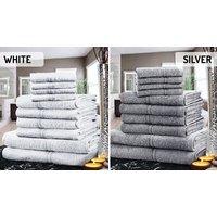 Imagem de 100% Egyptian Cotton Towel Set 10 or 20 Pieces, 12 Colours