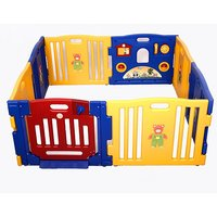 8-Panel Large Foldable Baby Playpen