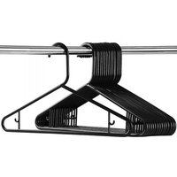 'Black Coat Hangers - 20, 60 Or 100-pack