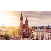 2-3 Night Hotel Stay With Flights and Schindler's List Tour