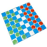 Giant Draughts Garden Board Game