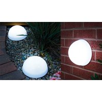Pack of 2 LED Dome Solar Lights