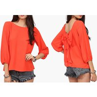 Image of Lace Chiffon Hollow Blouse 4 Colours