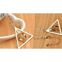 Image of 14K Gold Plated Vintage Friends Charm Bracelets 8 Styles, Buy 1 or 2