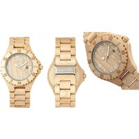 Eco-Friendly Unisex Earth Wood Watch – 4 Colours